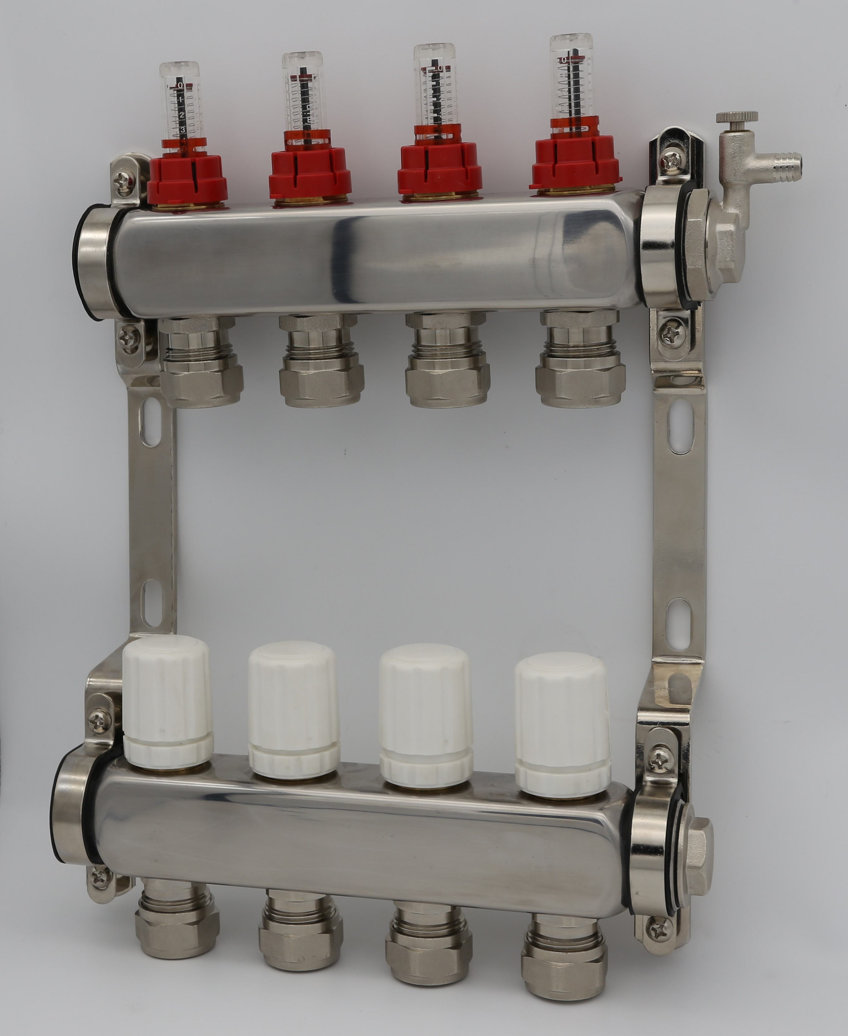 High Quality 304 Stainless Steel Underfloor Heating Manifold