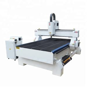 SM-1325 good quality heavy body vacuum table with vacuum pump 4X8 FT Automatic 3D CNC Wood router Machine CNC Router 1300*2500