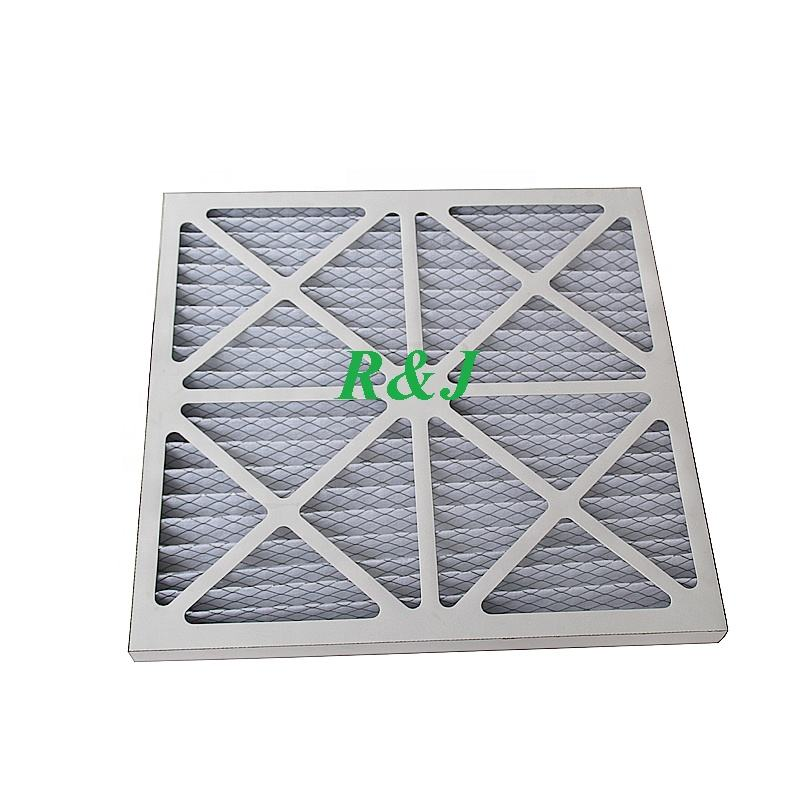 furance industrial air pleat panel filter 24*24*1inch for HVAC system