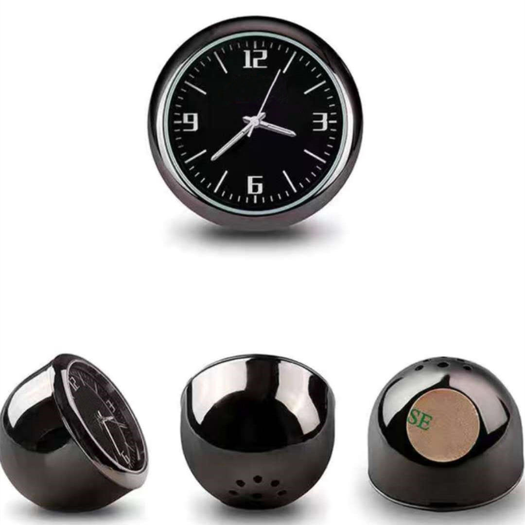 Mini Decoration Automotive Car Clock Ornaments Auto Watch Air Outlet Clip Dashboard Time Display Clock for Car Accessories