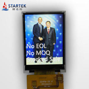 2.4 inch 240*320 IPS LCD module with MCU/SPI/RGB interface  full viewing angle