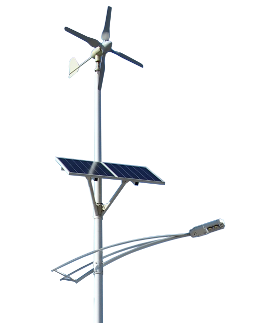 Angin Solar Hybrid LED Street Light
