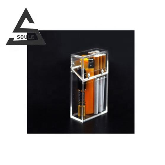 New style acrylic transparent cigarette case
