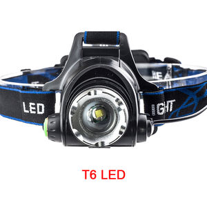 High Power Zoom Headlamp LED Rechargeable T6 Outdoor Headlight Hiking Head Lamp Torch Lantern Lights