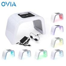 7 Colors Photodynamic Therapy PDT Machine Electric Reduce Acne Massager Led Light Therapy PDT Skin Care Device