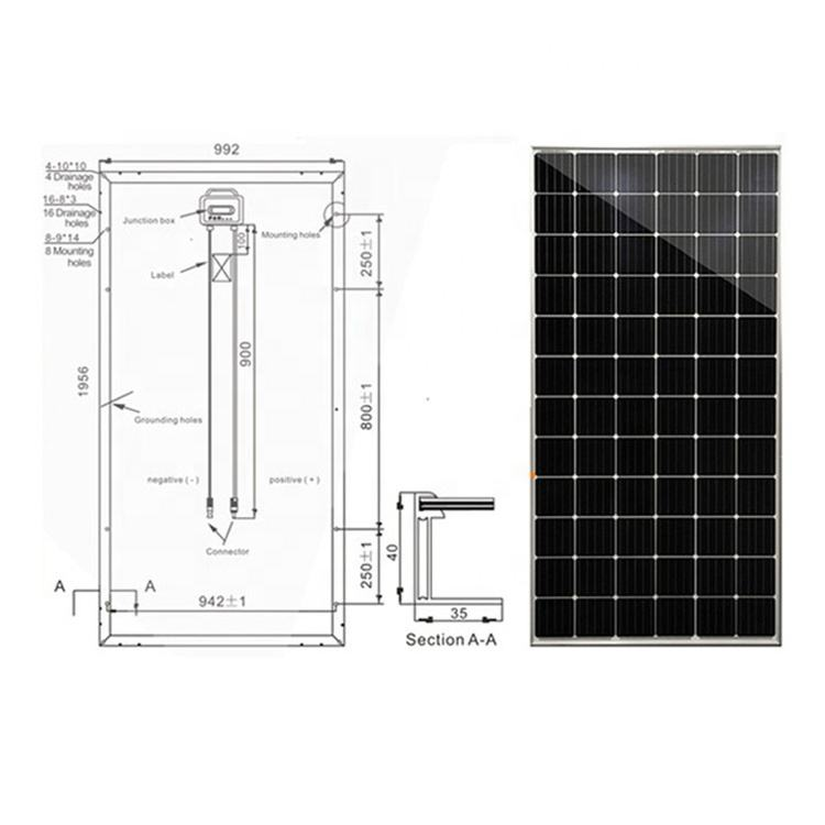 Hot new retail products nano monocryst solar panel silicon fotovoltaico ying