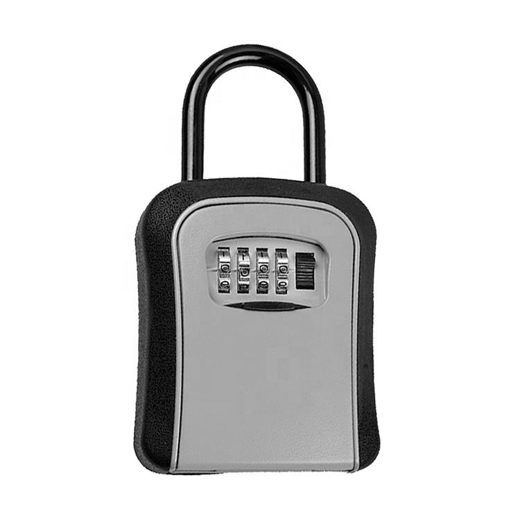 Beach Keyless Storage Metal Lock Password Portable Safe Part Smart Key Locker Box