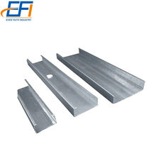 C-profile Steel Stud Metal Gypsum False Ceiling Steel Channel Price