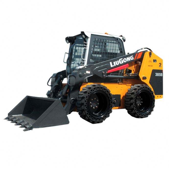 New Small Walk Behind Crawler Design 4T Mini Track Skid Steer Loader