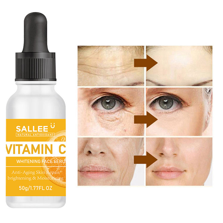 The Serum OEM ODM Pure Skin Care Whitening Hyaluronic Acid Face Vitamin C Serum Vc Serum Whitening