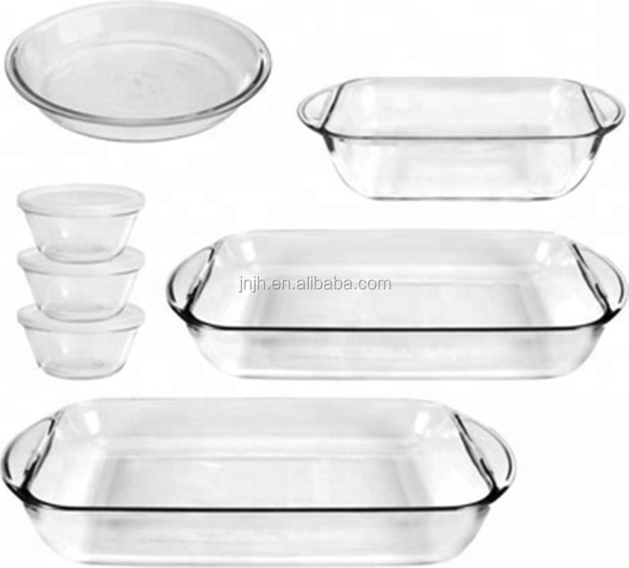 Borosilicate Glass Cookware/Pyrex Glass Baking Dish/ Pyrex Glass Baking Tray / Glassware