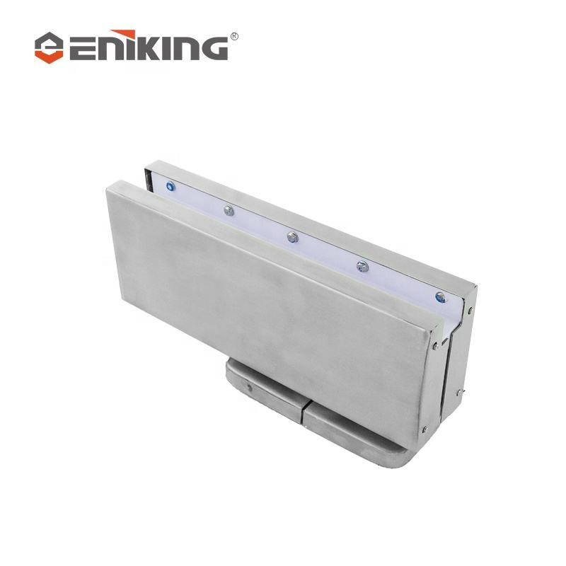 Eniking Hot Selling Hydraulic Soft Close Glastür Patch Fitting Nicht graben der Boden Feder tür schließer einstellbar