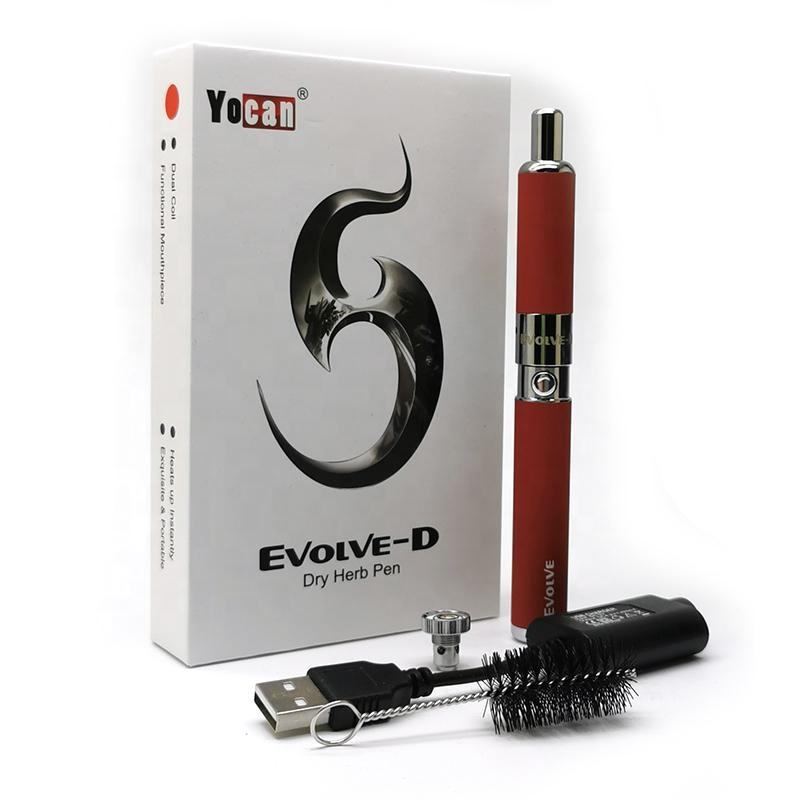 High quality Original Yocan Evolve D Starter Kit 650mah Battery for Dry Herb from Seavapo