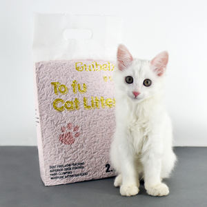 total shipping free in big discount cat sand tofu keep your kids more safe without any dust and chemical matter