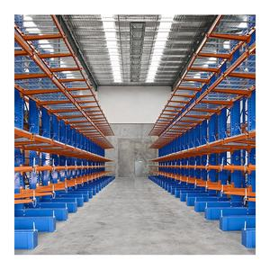 Steel Pipe Warehouse Storage Rack Q235B Steel Heavy Duty Cantilever Racking