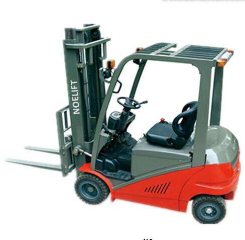 2 ton 4 wheel electric forklift the goods can be forklifted to their final destination