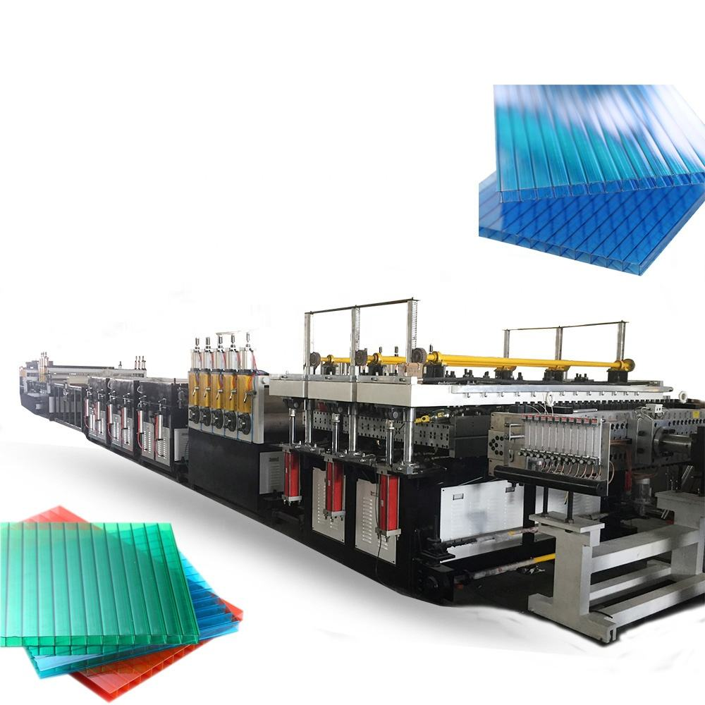 Plastic Sheet Making Extruderen Machine/Plastic Vel Extrusie Plant/Polycarbonaat Plaat Machine Extrusie Machine Prijs