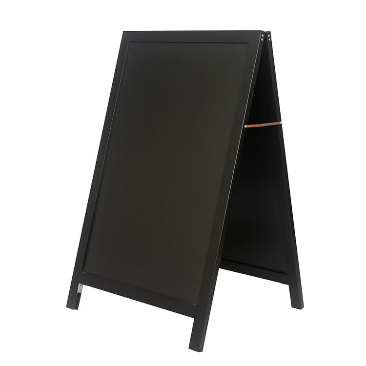 Notice Pin Up Board Sidewalk Sign Board Advertisinmg Chalkboard Double Sided Aluminum A Frame Foldable Blackboard