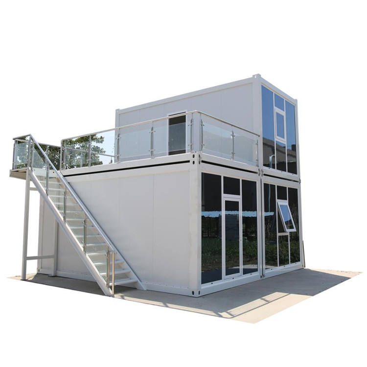 Easy assemble luxury modern 20/40 feet modular prefab homes shipping container houses