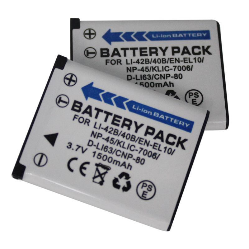 Bateria Olympus fe240 fe250 fe280 fe290 fe300