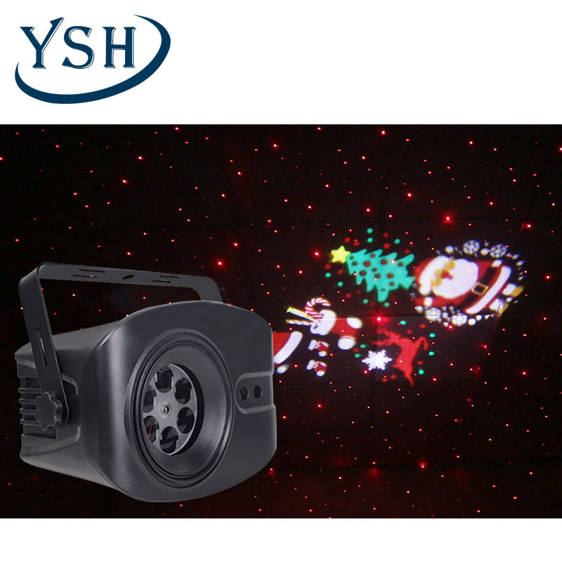 Factory Outlet Christmas Party Lights Indoor Decoration Patterns Laser Projector Light dj strobe light