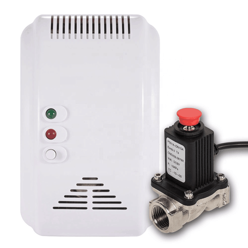Combustible gas leak detector home alarm system supports natural gas and gas leak detector alarm