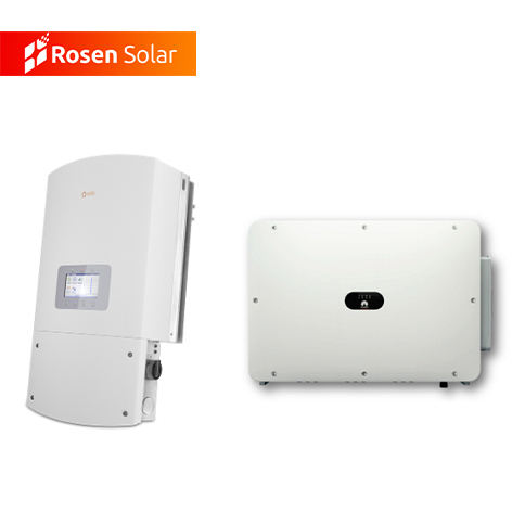 Goodwe Inverter Tenaga Surya, Growatt Solis Inverter Solar Grid Tie Inverter 5kw 10KW Harga Single/Tiga Fase