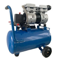 24 Liter oil free Low-noise portable piston air compressor