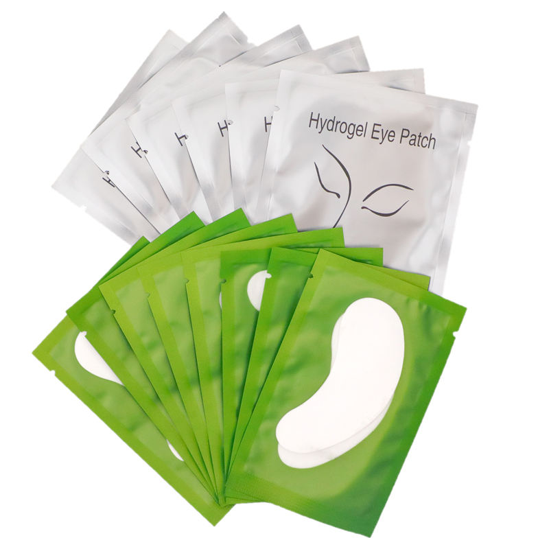 Eyepads Disposable Lint Free Hydrogel Comfy Curved Patches Gel Eyepatch Eyelash Extension