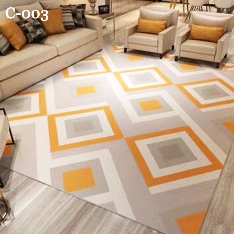 Modern Living Room Colorful Handmade Carpets Rugs