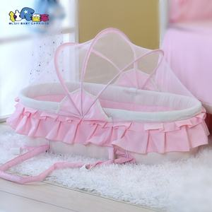 portable baby hanging cradle newborn bed carry cot