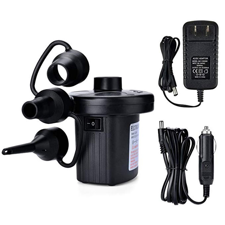Hot Selling Factory Supply Home Car Use Portable Mini AC 110 V 220 V Electric Air Pump