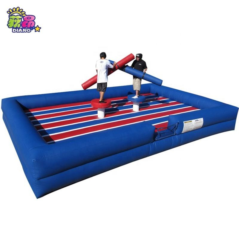 Promotion Adults Inflatable Gladiator Joust/Sport Arena Interactive Inflatable Fighting Games For sale
