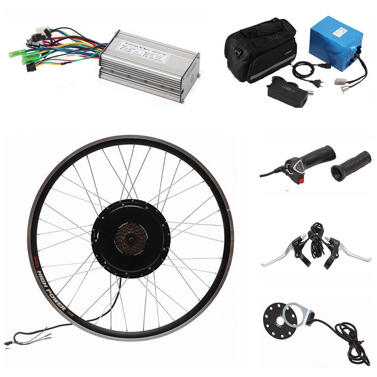 Cheap price 20 26 700c 27.5 28in 48v 500w 60v 1000w electric bike kit conversion, electric bicycle parts