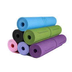 Hot sale pilates fitness matTPE Yoga matcustom print yoga mat