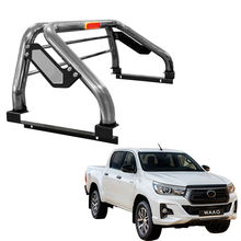 Pickup truck Accessories stainless steel sports rear bar roll bar for hilux revo 2015+