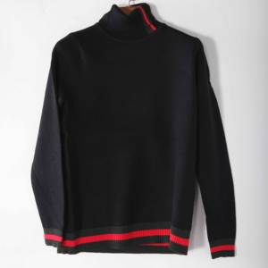 2020 Factory Supplier Latest Design High Quality Turtle Neck Cable Luxury Mens Custom Knit Sweater