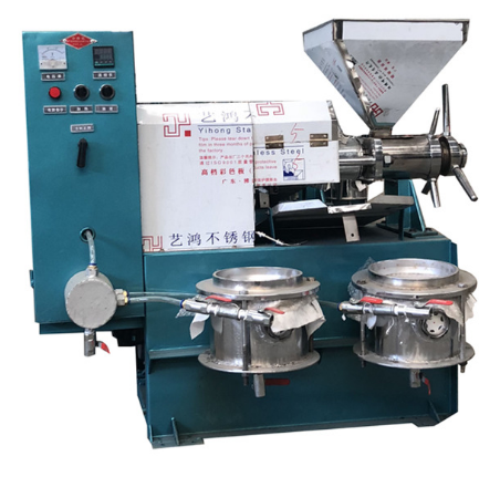 coconut rapeseed peanut black seed palm oil extraction machine/oil expeller/oil making press machine oil maker presser 6YL-120
