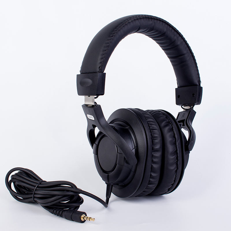 Professional recording studio customize monitor headphone wired stereo headphones noise cancelling for mixer CDJ computer