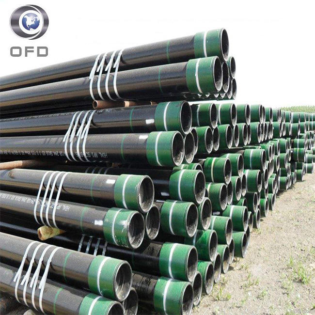 API J55 7 inch casing pipe specification for oil pipe