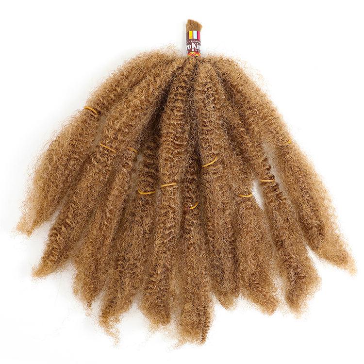 24 zoll <span class=keywords><strong>Kanekalon</strong></span> Marley Geflecht Premium Faser Afro Verworren Groß Synthetische Haar