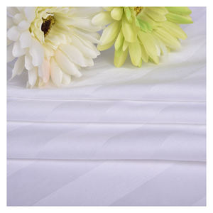 China supply 100 Percent 400 TC single cotton star hotel bed sheet fabrics