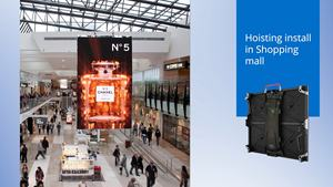 China Hd Led Display Screen Curved Video Fixed Panel Full Color Installation Indoor Background Wall For Advertising