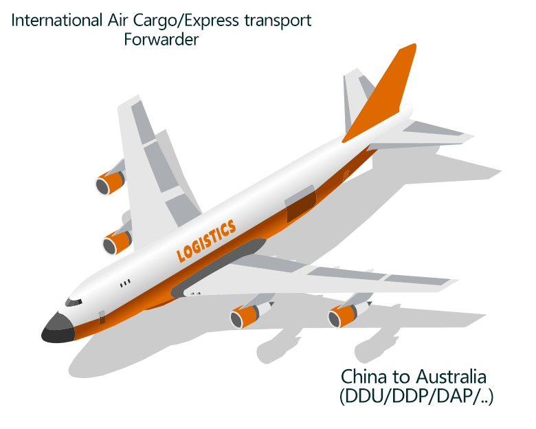Air freight Cargo ship from China to Hobart, Launceston, Melbourne, Perth, Sydney in Australia