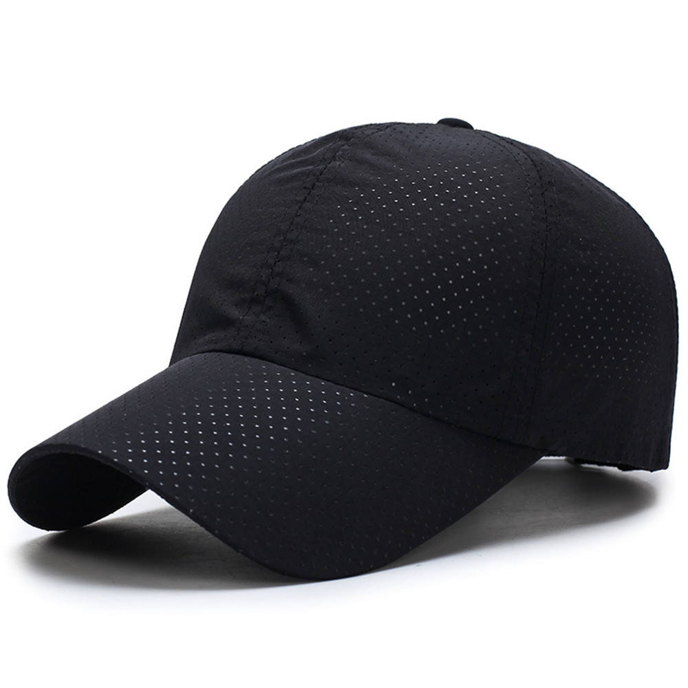 CP003 Wholesale Quick Dry Breathable Mesh Running cap/Mesh sports baseball cap