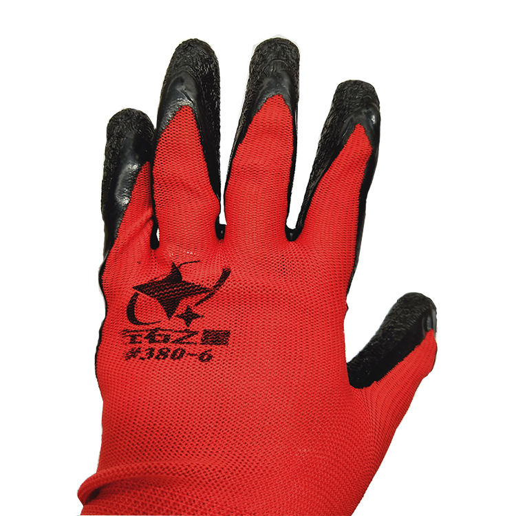 "10 ""Size & Weight 50g Coated Working Gloves Nylon Gloves"