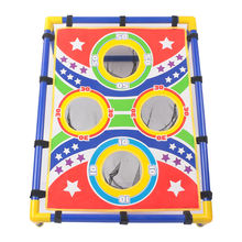 kids sport toys cornhole game bean bag toss game set
