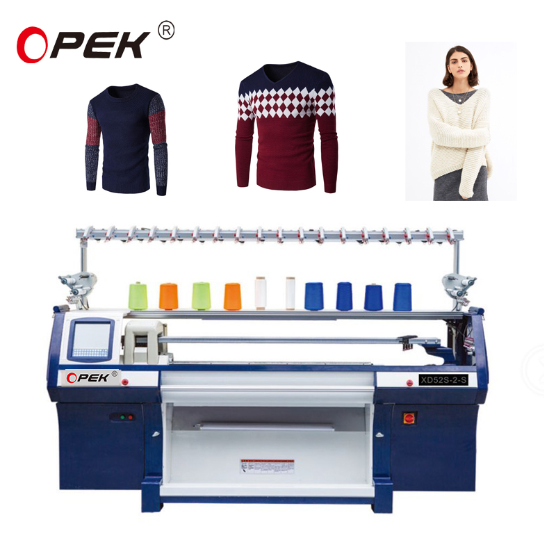 Chinese sweater computerized flat knitting machine