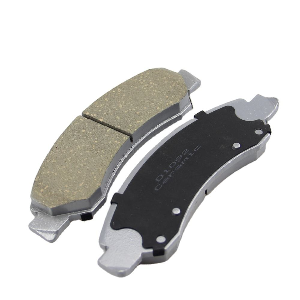 D1092 professional ceramic disc brake pad set for GMC TRUCK break pads ceramic