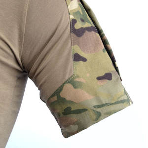 Outdoor Sport Leisure Militaire Training Suits Kikker Korte Mouwen Tactische Kikker Stijl Mannen T-Shirt